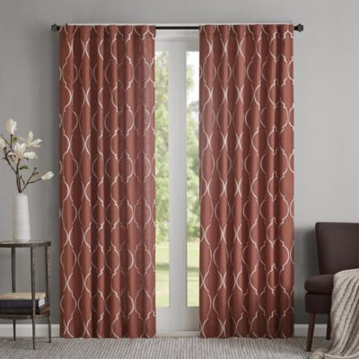 Regency Heights Lexi Rod Pocket Window Curtain Panel Bed