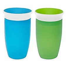 image of Munchkin® Miracle® 360º 2-Pack 10 oz. Sippy Cups