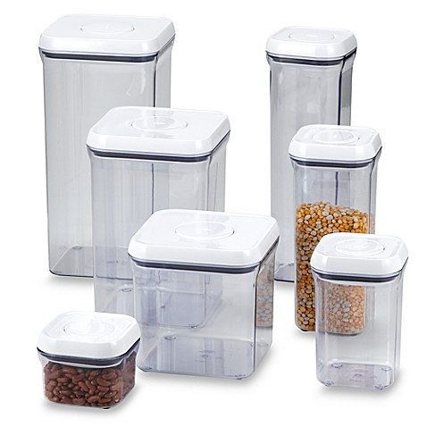 Oxo Good Grips Square Food Storage Pop Container Bed Bath Beyond