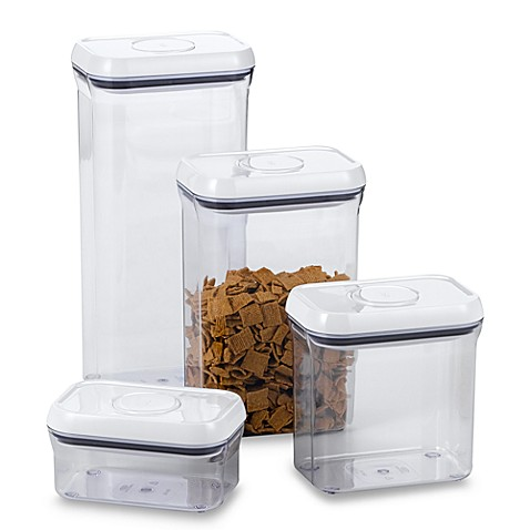OXO Good Gripsu0026reg; Rectangular Food Storage Pop Container