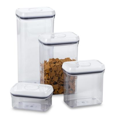 OXO Good Grips Rectangular Food Storage Pop Container Bed Bath