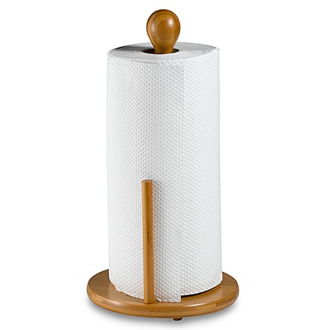 Bamboo Paper Towel Holder Bed Bath Beyond