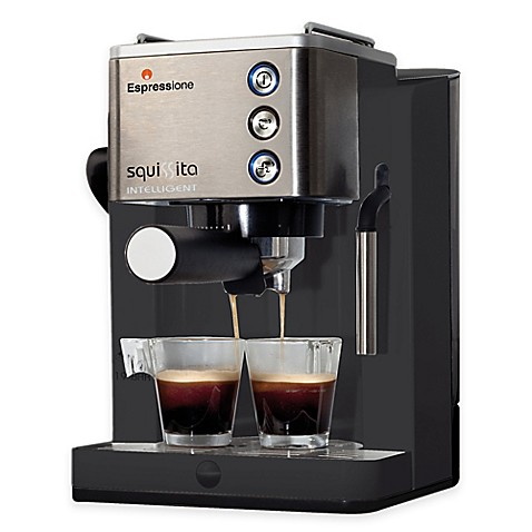 Attractive Espressione Squissita Intelligent 19 Bar Thermo Block Espresso Machine Pictures Gallery