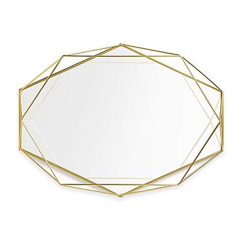 Umbra x prisma mirror bed bath for Miroir umbra
