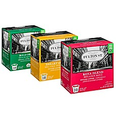 image of Fulton St.™ RealCup® Coffee for Single Serve Coffee Makers