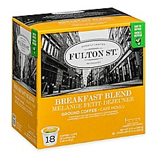 image of 18-Count Fulton St.™ Breakfast Blend RealCup® Coffee for Single Serve Coffee Makers