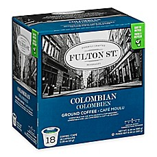 image of 18-Count Fulton St.® Colombian RealCup™ Coffee for Single Serve Coffee Makers