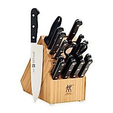 image of zwilling ja henckels gourmet 18piece knife block set