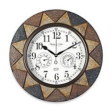 image of Slate Indoor/Outdoor Wall Clock