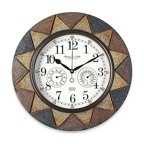 image of slate wall clock
