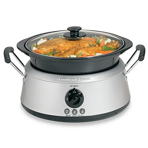Hamilton Beach 174 3 In 1 Slow Cooker Bed Bath Amp Beyond