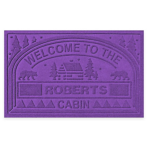 Weather Guard Quot Welcome To The Cabin Quot 23 Inch X 36 Inch