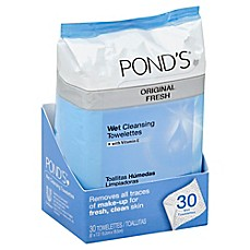 image of Pond's® 30-Count Original Fresh Wet Cleansing Towelettes