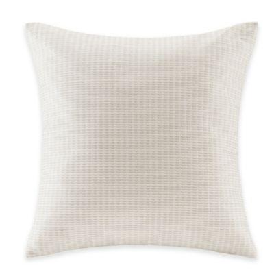 Echo Design Throw Pillows : Echo Design Juneau Square Throw Pillow in Ivory - Bed Bath & Beyond