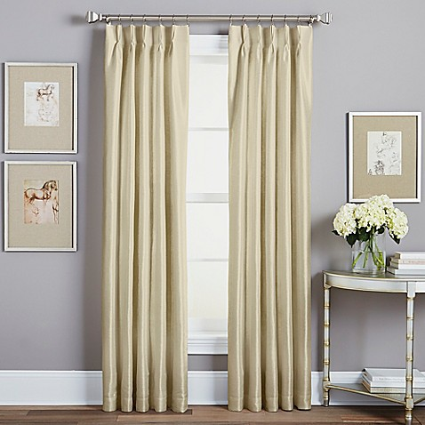 Spellbound Pinch Pleat Rod Pocket Lined Window Curtain Panel Bed Bath Beyond
