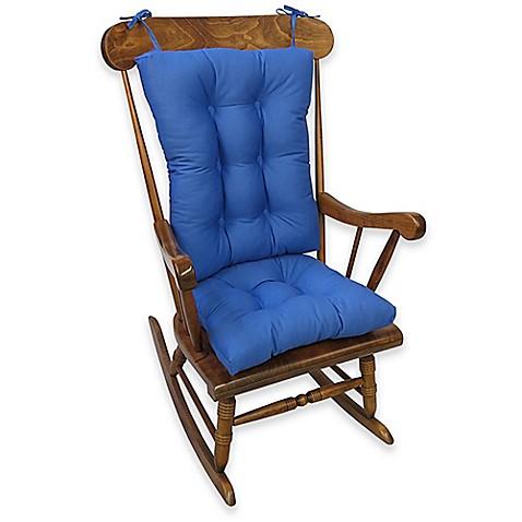 Klear Vu Twill Universal X Large 2 Piece Rocking Chair Pad