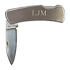 image of 3-Inch Locking Stainless Steel Pocket Knife in Pewter