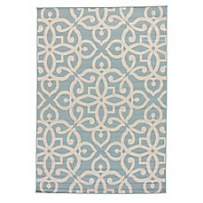 image of Jaipur Scrolled Indoor/Outdoor Rug