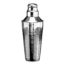 image of Oggi™ Stainless Steel Hammered Cocktail Shaker