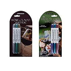 image of Wine Glass Writer 3-Pack Washable Markers