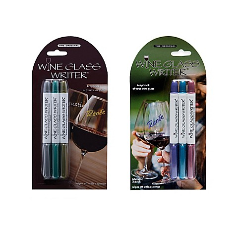 Wine Glass Markers Bed Bath And Beyond