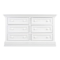 image of Baby Appleseed® 6-Drawer Double Dresser in Pure White