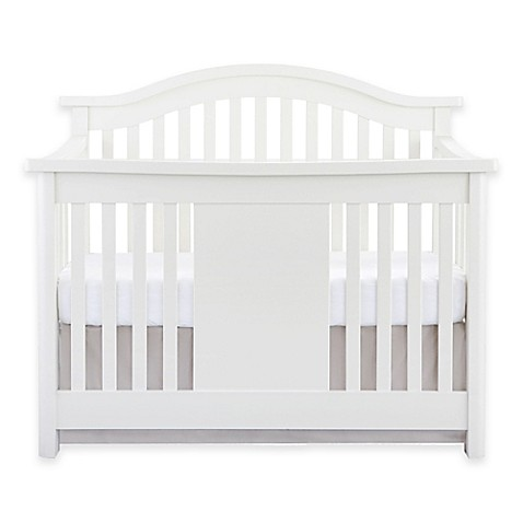 Baby Appleseedu0026reg; Stratford 4 In 1 Convertible Crib In Pure White