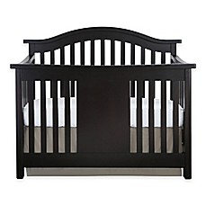 image of Baby Appleseed® Stratford 4-in-1 Convertible Crib in Espresso