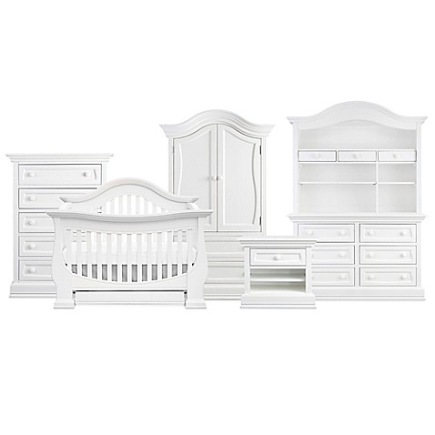 Baby Appleseedu0026reg; Davenport Nursery Furniture Collection In Pure White