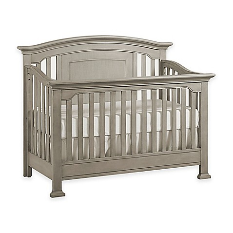 Image Of Kingsley Brunswick 4 In 1 Convertible Crib In Ash Grey