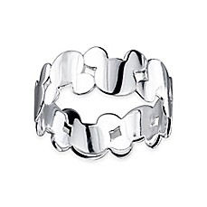 image of Disney® Sterling Silver Mickey Mouse Ladies' Ring