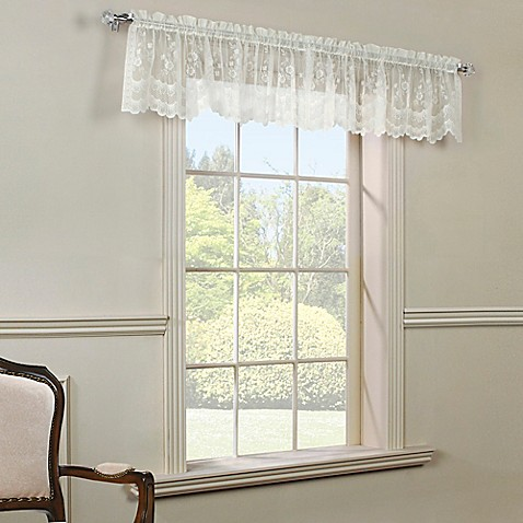 Buy Mona Lisa Window Valance In Shell From Bed Bath Amp Beyond