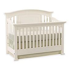 image of kingsley brunswick 4in1 convertible crib in white