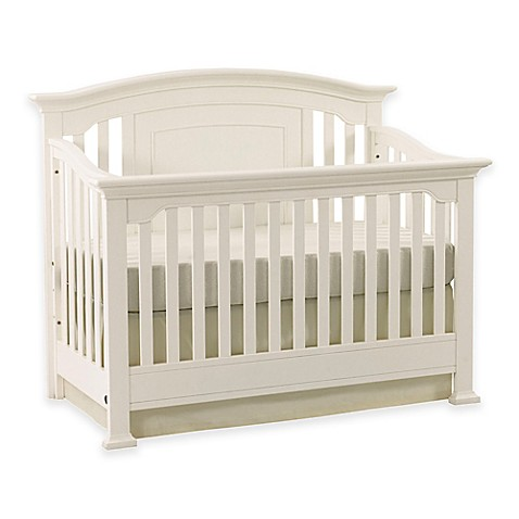 Image Of Kingsley Brunswick 4 In 1 Convertible Crib In White