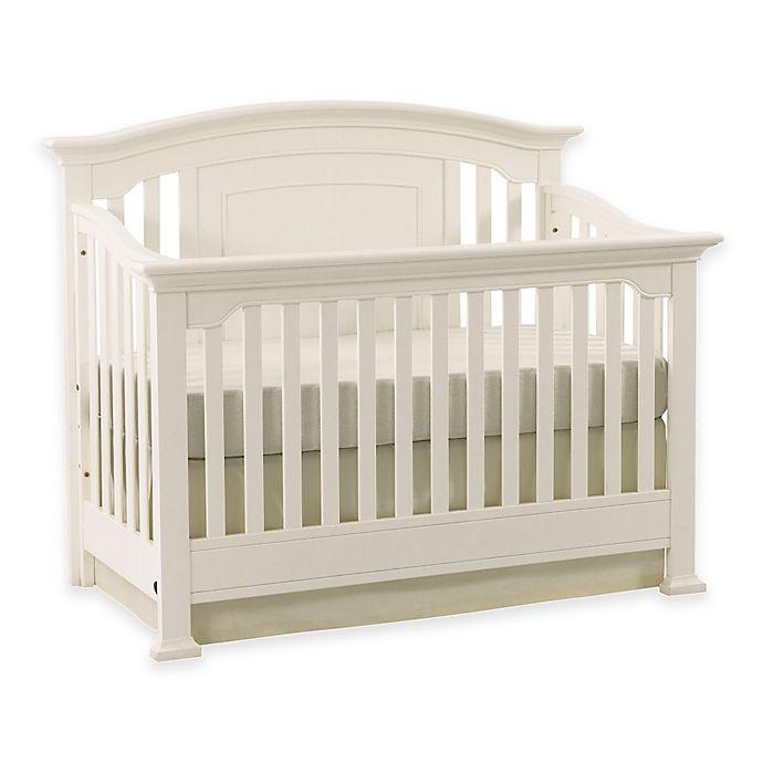Kingsley Brunswick 4-in-1 Convertible Crib in White
