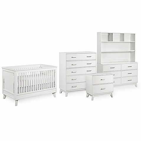 Munire Wyndham Nursery Furniture Collection in White