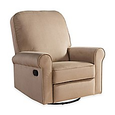 image of abbyson living penelope nursery swivel glider recliner - Rocking Chairs For Nursery