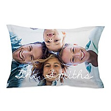 image of Microfiber Photo Standard Pillow Sham