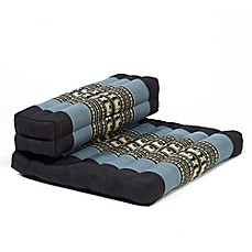 My Zen Home™ Dhyana™ Meditation Cushion in Blue/Black