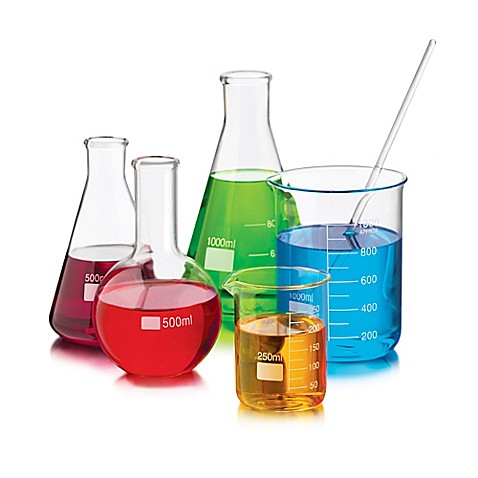 Libbey Glass Piece Chemistry Bar Mixologist Set Bed Bath Beyond - Ceiling lamp made by chemistry test tubes