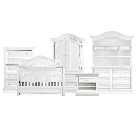 Baby Appleseedu0026reg; Millbury Nursery Furniture Collection In Pure White
