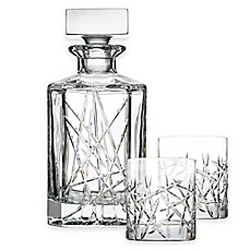 image of Top Shelf Graffiti 3-Piece Decanter Set