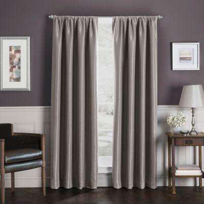 Sebastian Rod Pocket Insulated Total Blackout Window Curtain