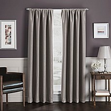 image of Sebastian Rod Pocket Insulated Total Blackout™ Window Curtain Panel