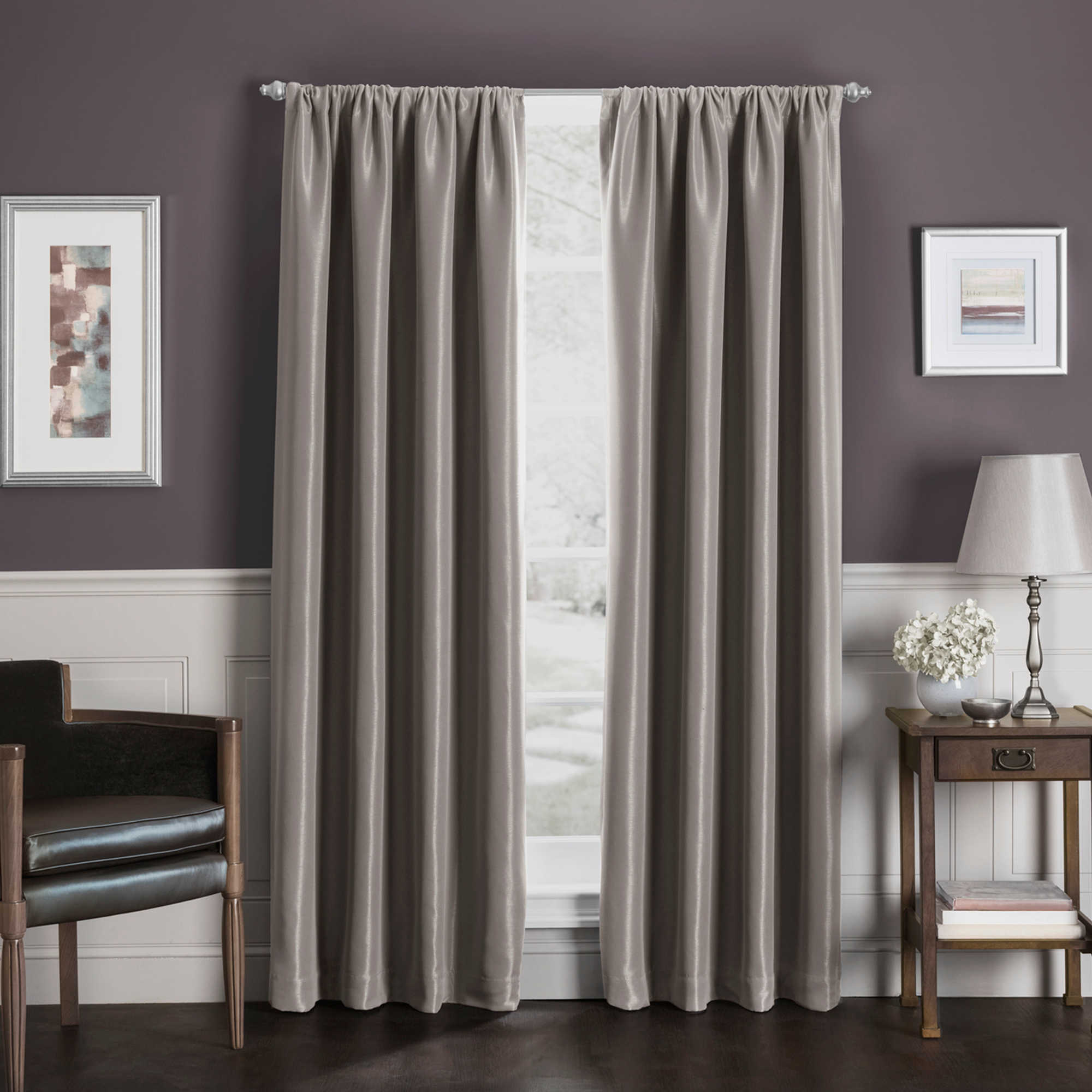 Home gt features amp occasions gt blackout curtains blackout luxury - Sebastian Rod Pocket Insulated Total Blackout Trade Window Curtain Panel