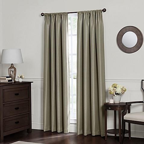 Curtains Ideas bath window curtain : Emery Rod Pocket Insulated Total Blackout™ Window Curtain Panel ...