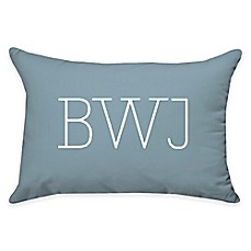 image of 14-Inch x 20-Inch Rectangle Dual Sided Printable Poplin Throw Pillow