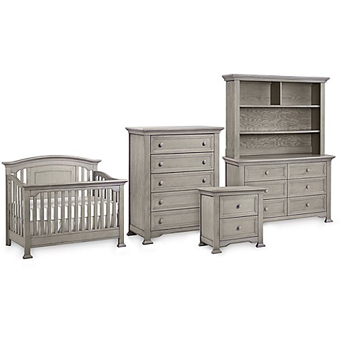 Kingsley Brunswick Nursery Furniture Collection In Ash Grey