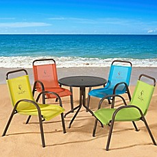 image of Panama Jack Kids 5-Piece Outdoor Dining Set