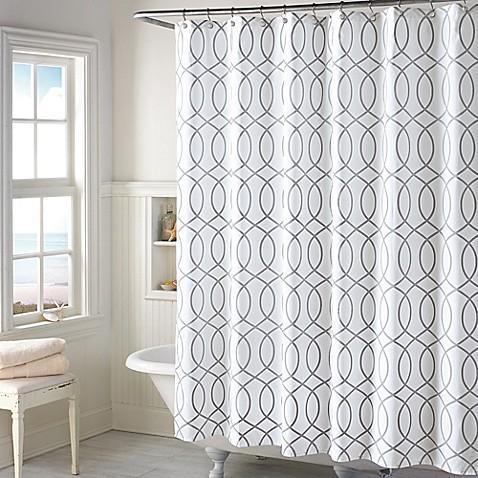 shower curtain for gray bathroom. Huntley Shower Curtain  Bed Bath Beyond